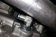 Fitment of fittings on STOCK up-pipes